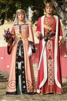 Jaume I i Violant d'Hongria